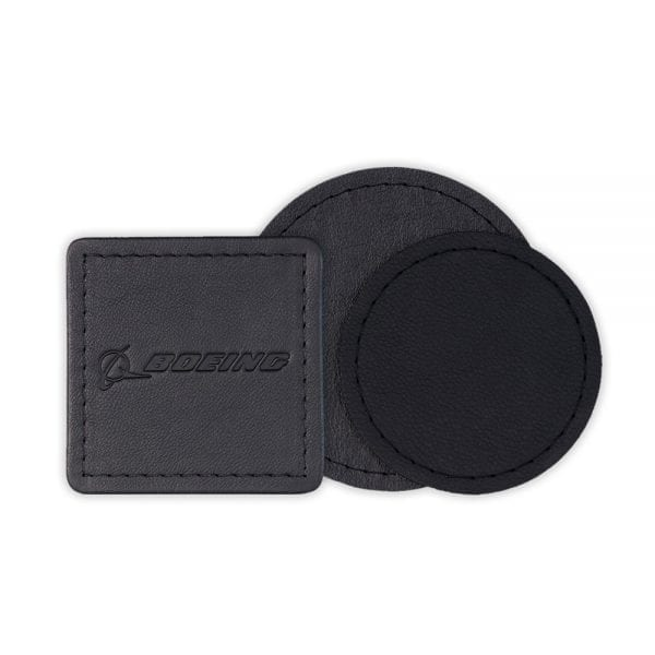 Leather Coasters from Polar