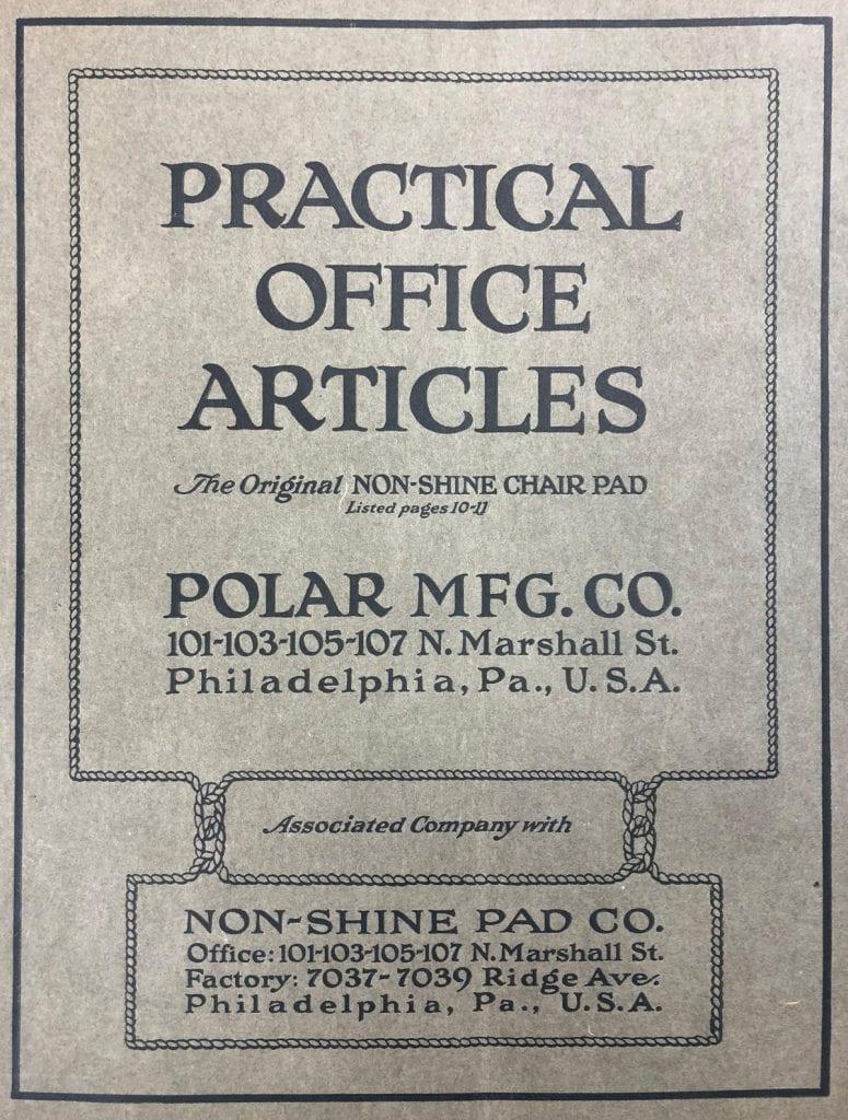 Practical Office Articles - Polar MFG. Co.