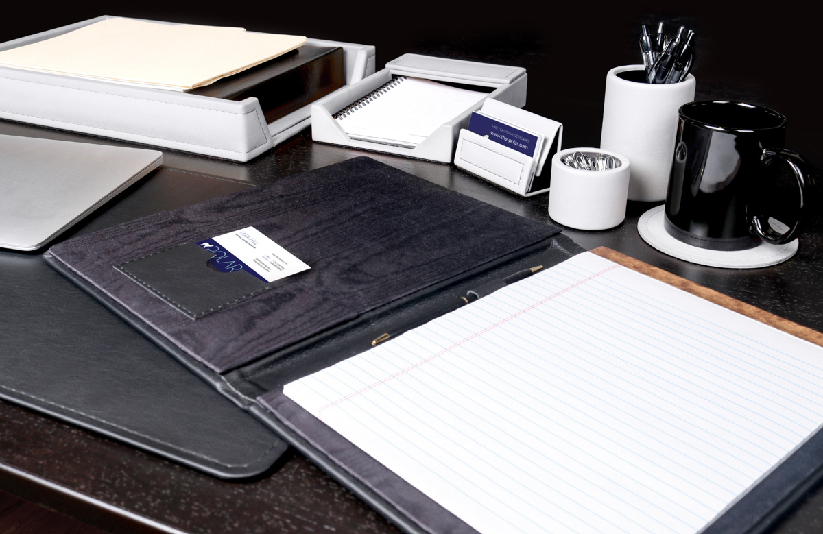 Office Leather Accessories from Polar